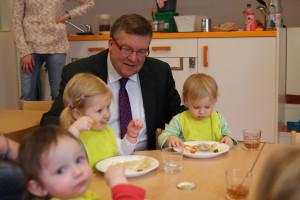 Besuch im Haus für Kinder St. Elisabeth in Kitzingen