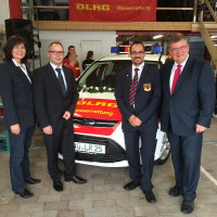 2014 09 21 Fahrzeugweihe und Tag der DLRG Gerbrunn