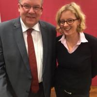 Natascha Kohnen mit Volkmar Halbleib