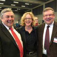 Heinz Koch, Natascha Kohnen, Volkmar Halbleib
