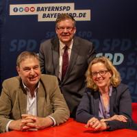KohnenPlus in den Mainfrankensälen mit Natascha Kohnen und Bernhard Schlereth