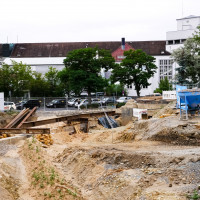 Baustelle am Hubland