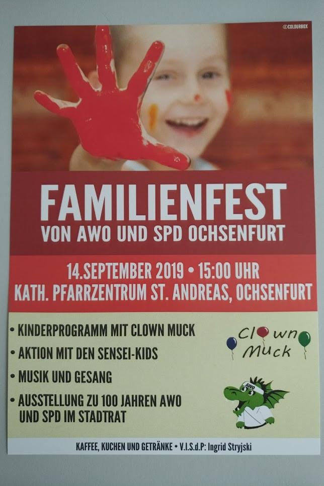 Familienfest AWO und SPD Ochsenfurt