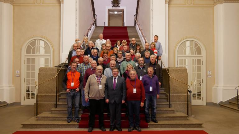 VdK Helmstadt und Estenfeld besuchen den Landtag