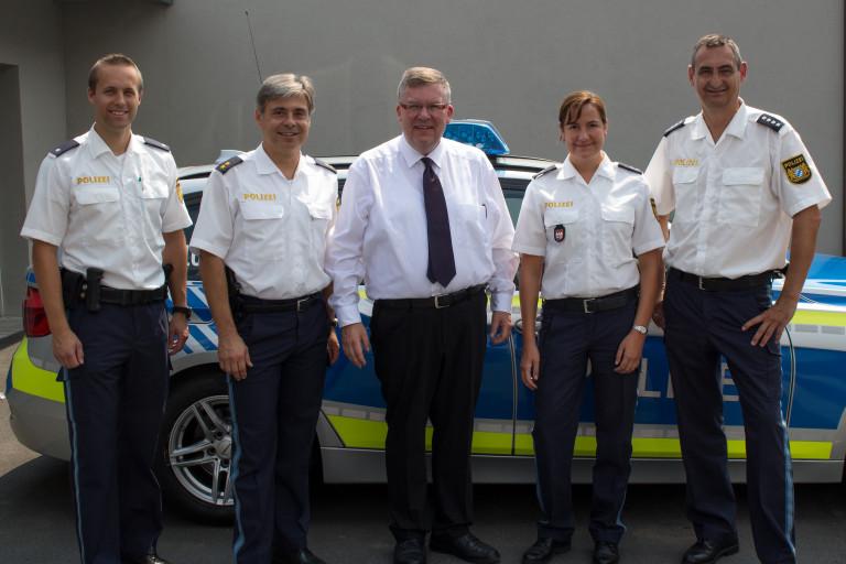 Informationsbesusch bei der Polizeiinspektion Ochsenfurt