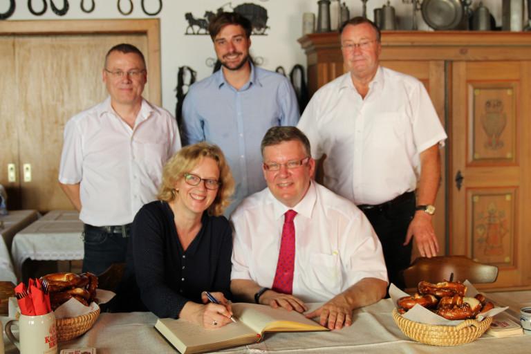 Besuch bei der Ochsenfurter Kauzen Bräu