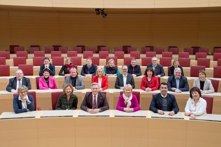 SPD Landtagsfraktion Gruppenbild