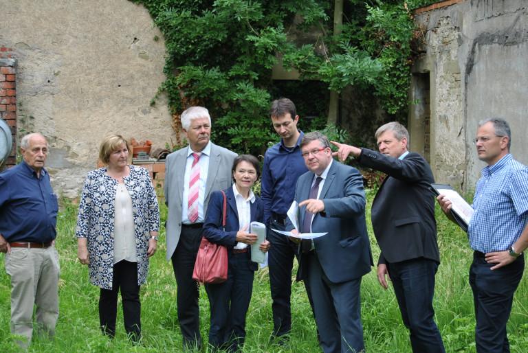 Wolz Estenfeld landtagsabgeordnete besuchen die kartause in estenfeld volkmar