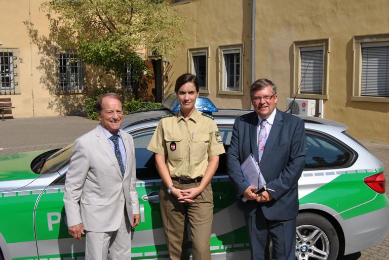 2016 09 15 Besuch Polizeiinspektion Kitzingen